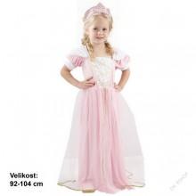 Dětský karnevalový kostým PRINCEZNA JITŘENKA 92 - 104cm ( 3 - 4 roky )